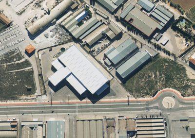 Proyecto Verdú foto aerea